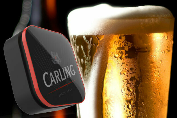 2 Pints of Carling Lager 4% ABV
