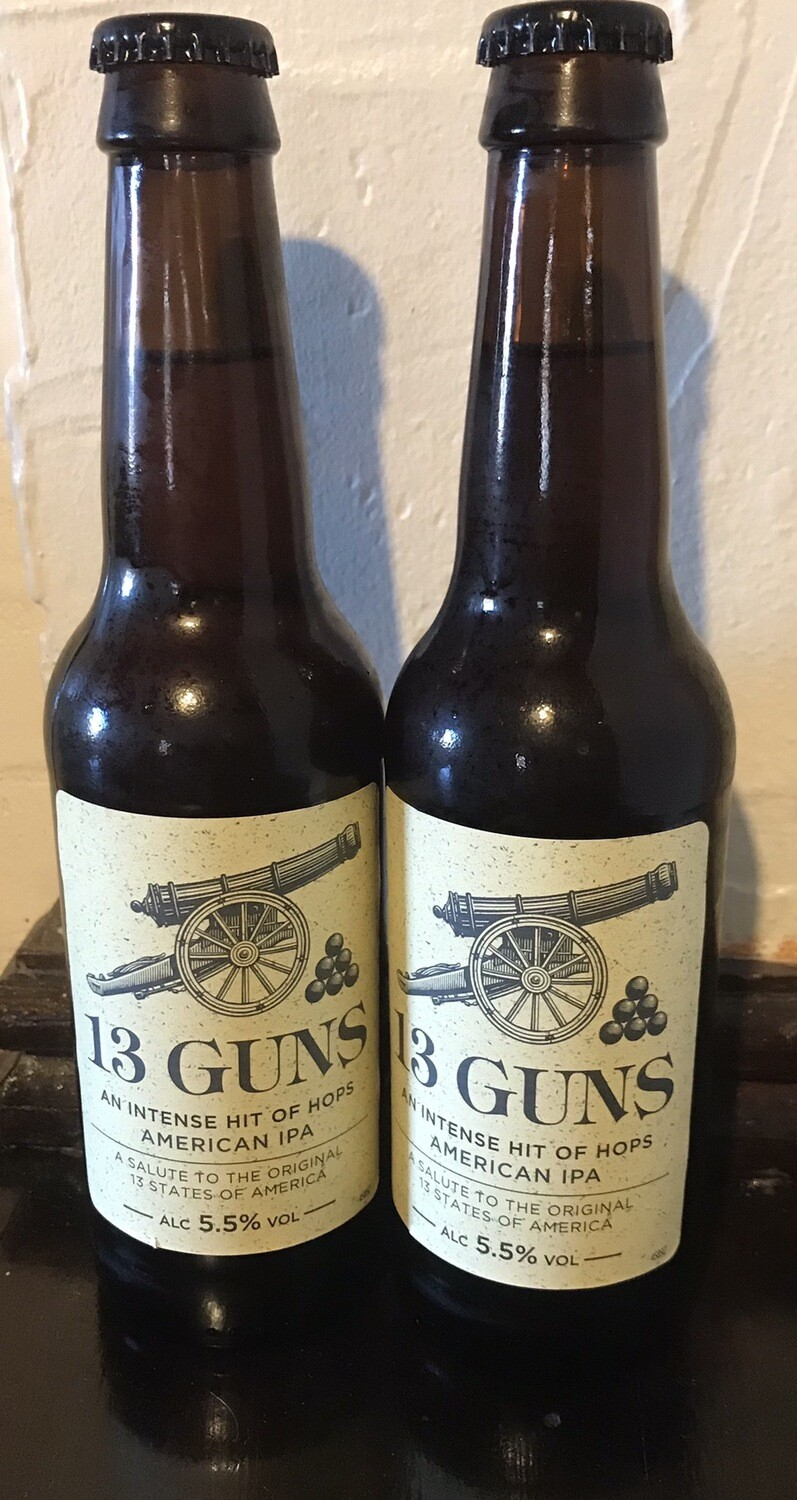 13 Guns American IPA 330ml Botttle