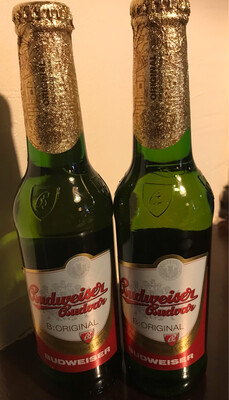 Budweiser Budvar B: Original 5 % ABV                * Special Offer * 3 X 330ml Bottles
