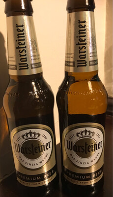 Warsteiner Premium German Pilsner 4.8% ABV  * Special Offer * 3 X 330ml Bottles