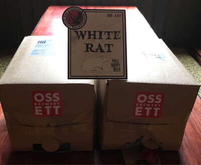 5l BIB White Rat 4 % ABV