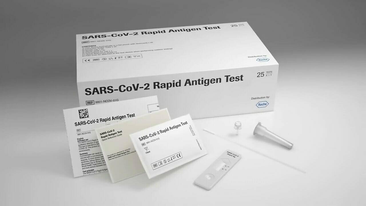 Roche COVID-19 Rapid Antigen Test