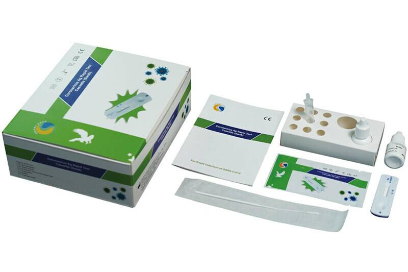 Healgen COVID-19 Rapid Antigen Test - PHE Approved