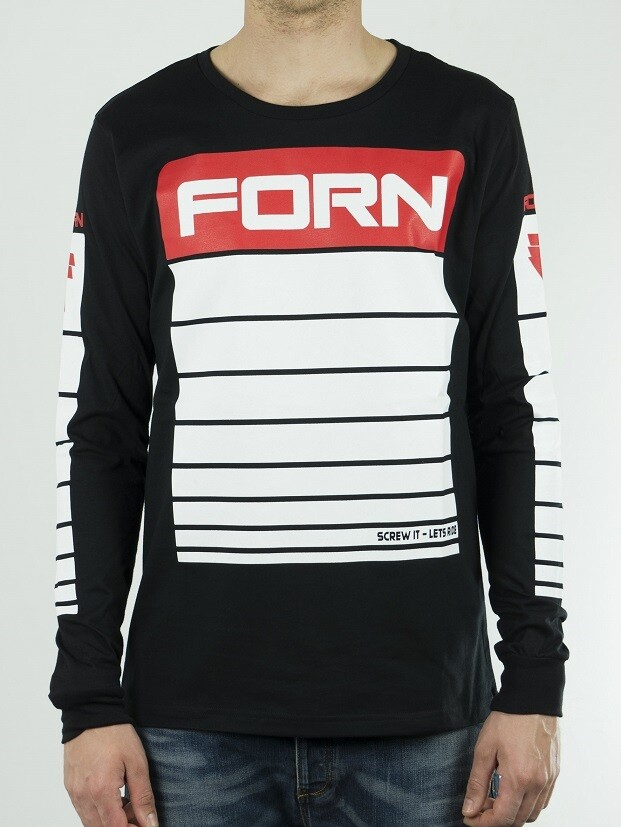 Long Sleeves Icon Black