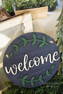3D Hanging Sign
