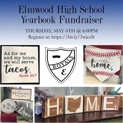 Elmwood Yearbook Spring Fundraiser