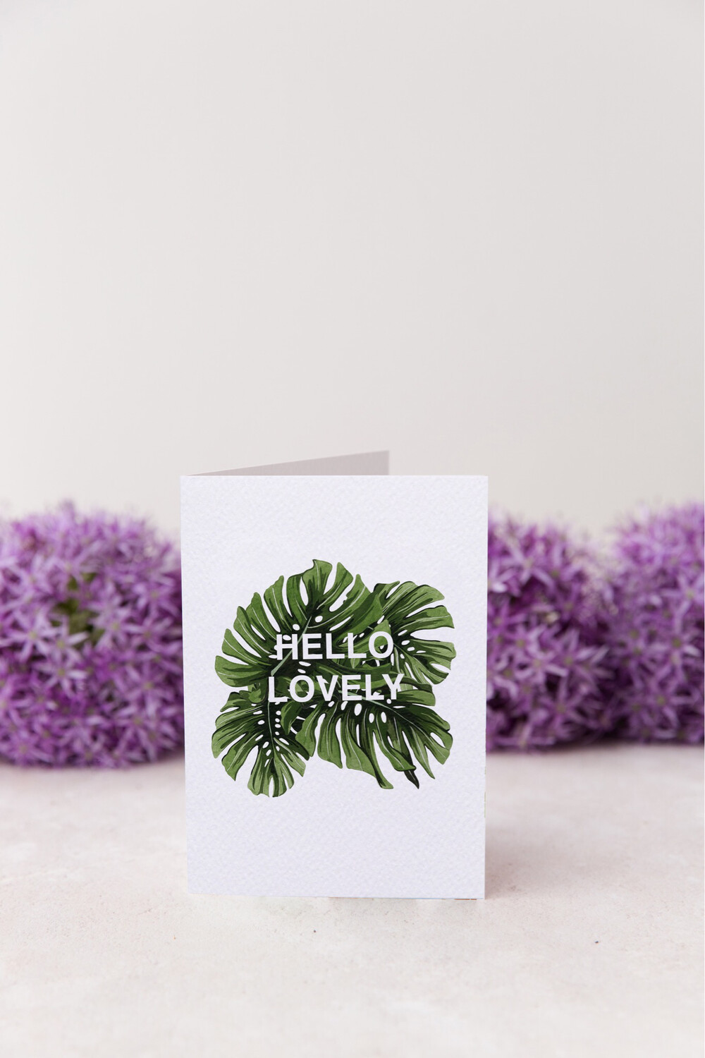 HELLO LOVELY - A5 Greeting Card