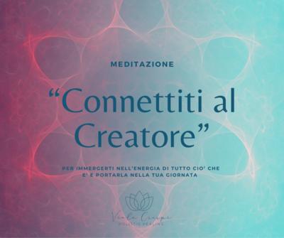 Connettiti al Creatore