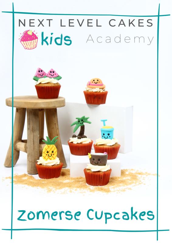 Next Level Cakes - Kids Academy - Zomer Tutorial