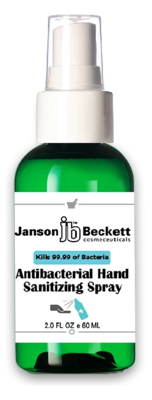 Hand Sanitizer Spray 2 OZ (60 ml) - Case of 120 Bottles