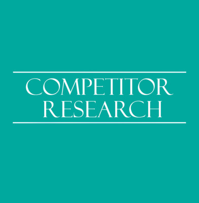 Competitor Research - Know Your Competition