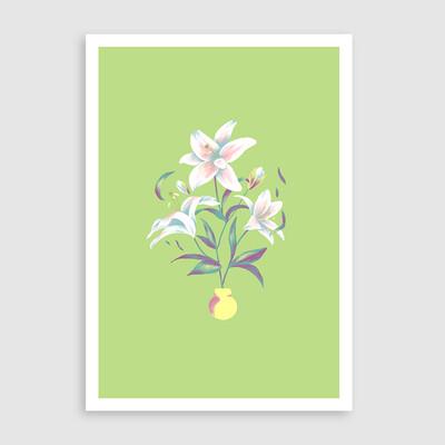 Lilies - Art Print