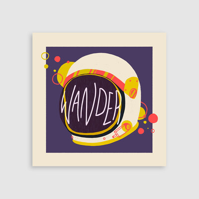 Wander - Art Print