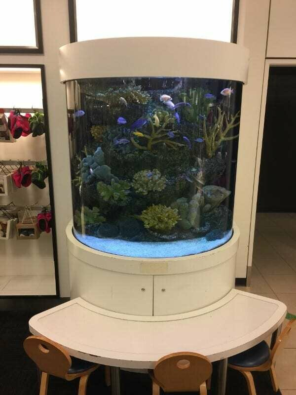 Customer Aquarium