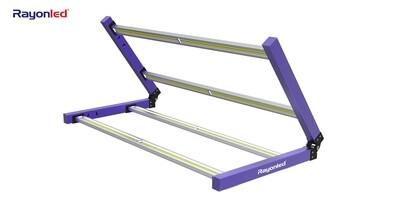 GLMF400W - Foldable Four Bar Grow Light