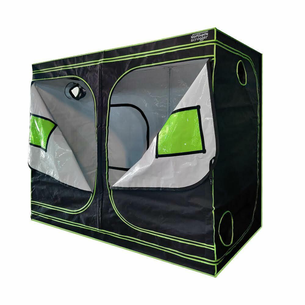 4x8 WHITE Interior Grow Tent
