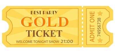 Classic Tickets - Yellow