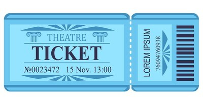 Classic Tickets - Blue