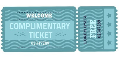 Classic Tickets - Blue Waves