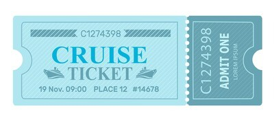 Classic Tickets - Blue Lines