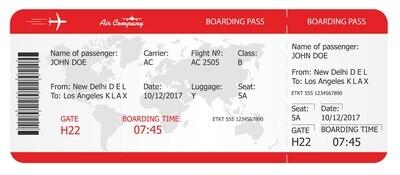Premium Tickets - Red Air Ticket