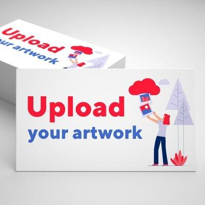 Business cards - upload your design