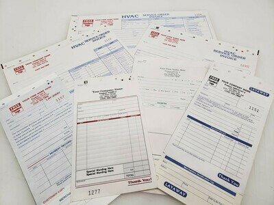 Business Forms (NCR Carbonless Forms)