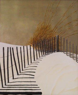 Beach Fence - Print