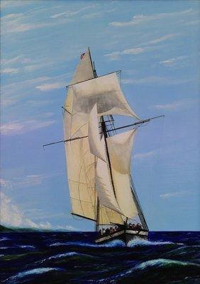 Sail Boat - Print