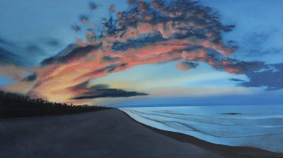 Sunset Over The Island - Print
