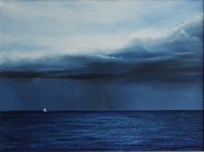Sailing Before The Storm - Print
