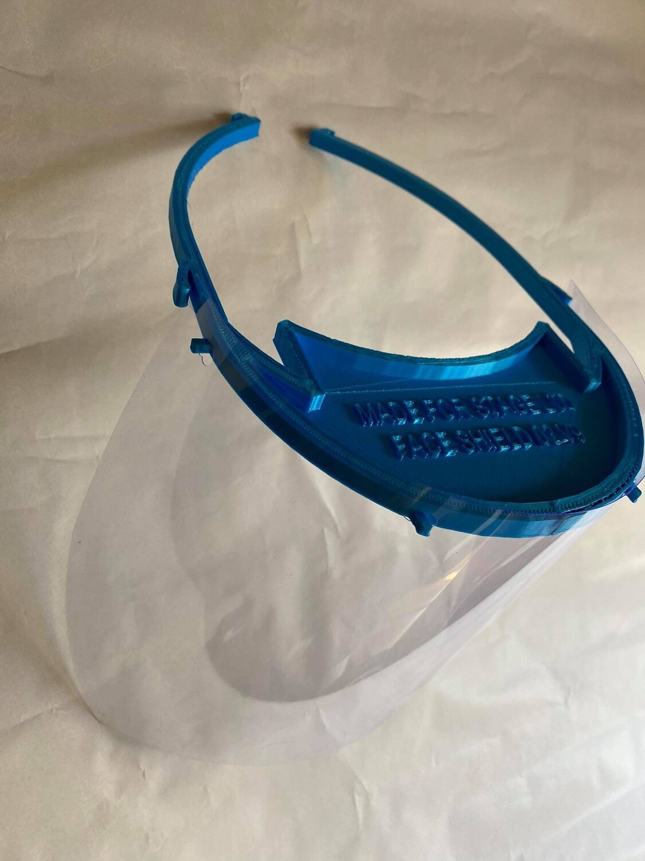 02V9 Dentists Face Visor (pack Of 12)
