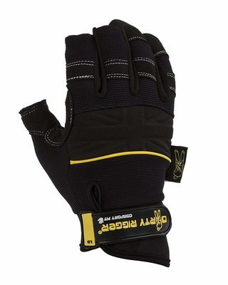 Dirty Rigger Kevlar Protector Work Glove L Black