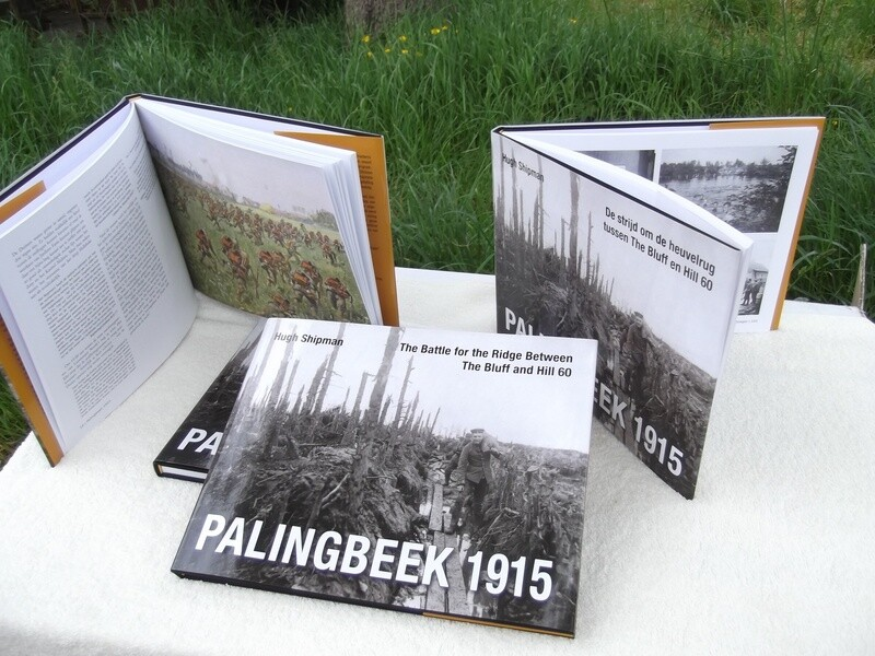 Palingbeek 1915 The battle for the ridge between The Bluff and Hill 60