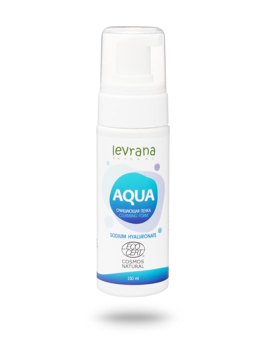 """Очищающая пенка для умывания """"Aqua"""", 150 мл"""
