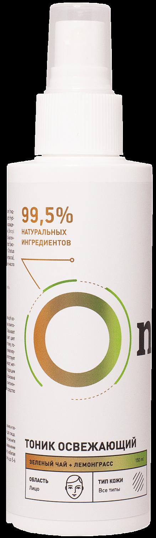 """Тоник освежающий """"Зеленый чай и лемонграсс"""", 150 мл"""