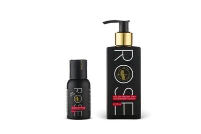 Rose гель для очищения кожи увлажняющий с шелком, 170 мл