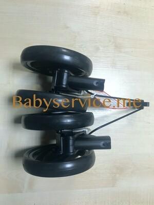 Колесный блок Peg-Perego Pliko P3 / Compact задний черный