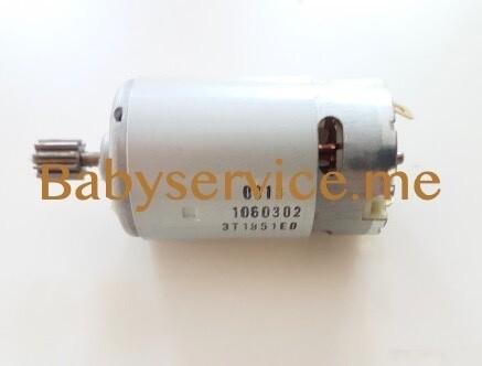 Мотор Peg-Perego 12V 165W (10 зубцов)