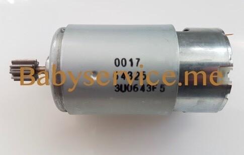 Мотор Peg-Perego 12V 230W (10 зубцов)