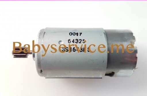 Мотор Peg-Perego 12V 230W (9 зубцов)