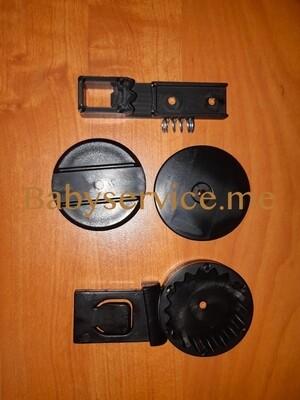 Трещотка Anex Sport капюшона правая черный