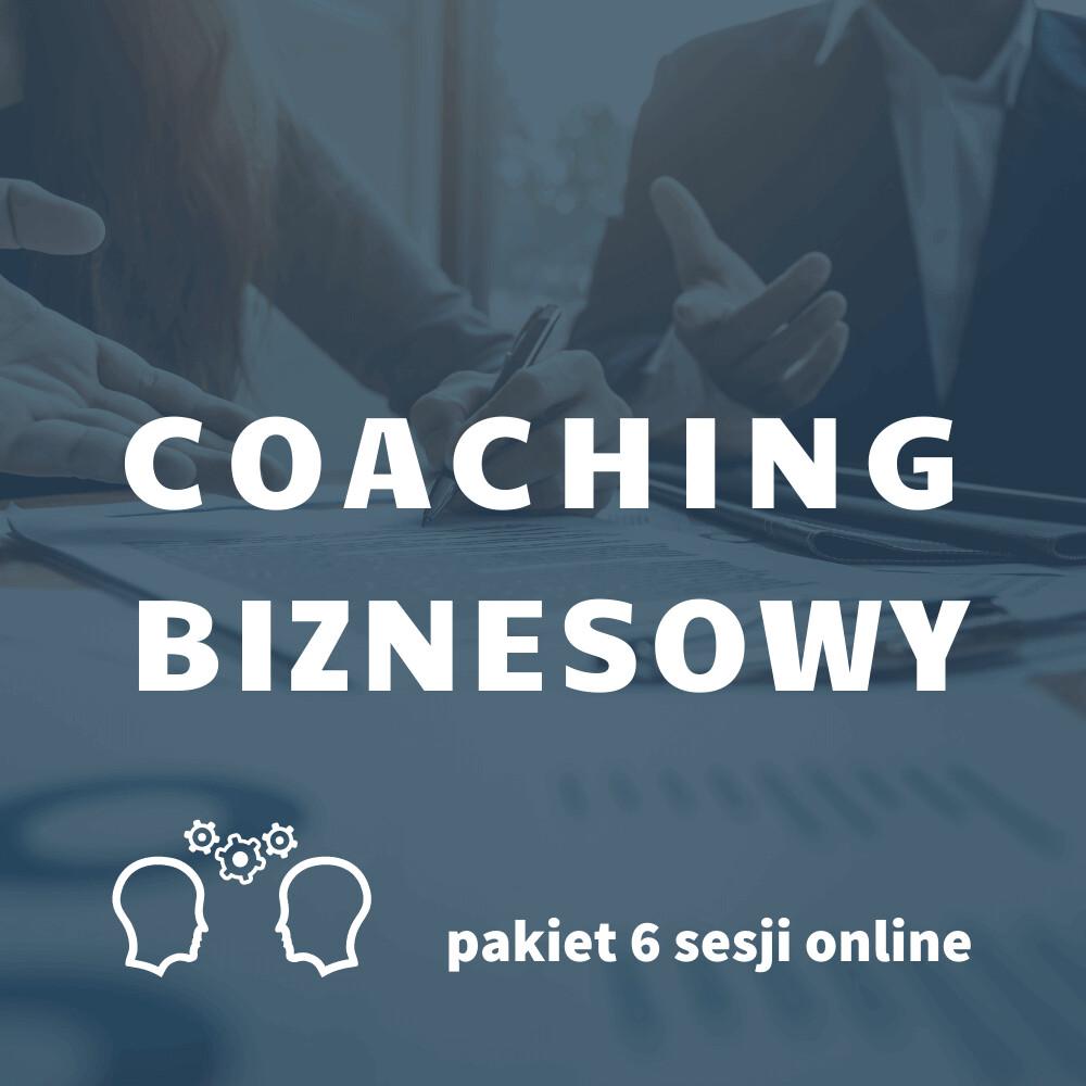 Biznes Coaching pakiet 6 sesji online, GTU 12
