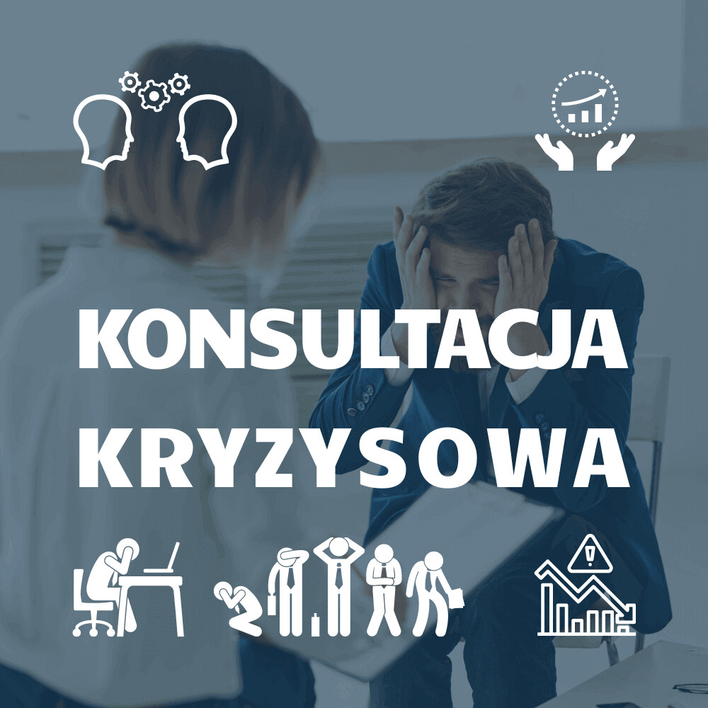 Konsultacja Kryzysowa 1 sesja ONLINE, GTU 12