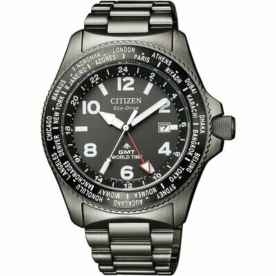 CITIZEN PROMASTER WORLD TIME GMT