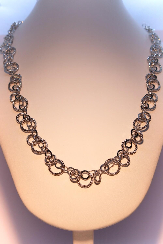 Collana a catena in argento