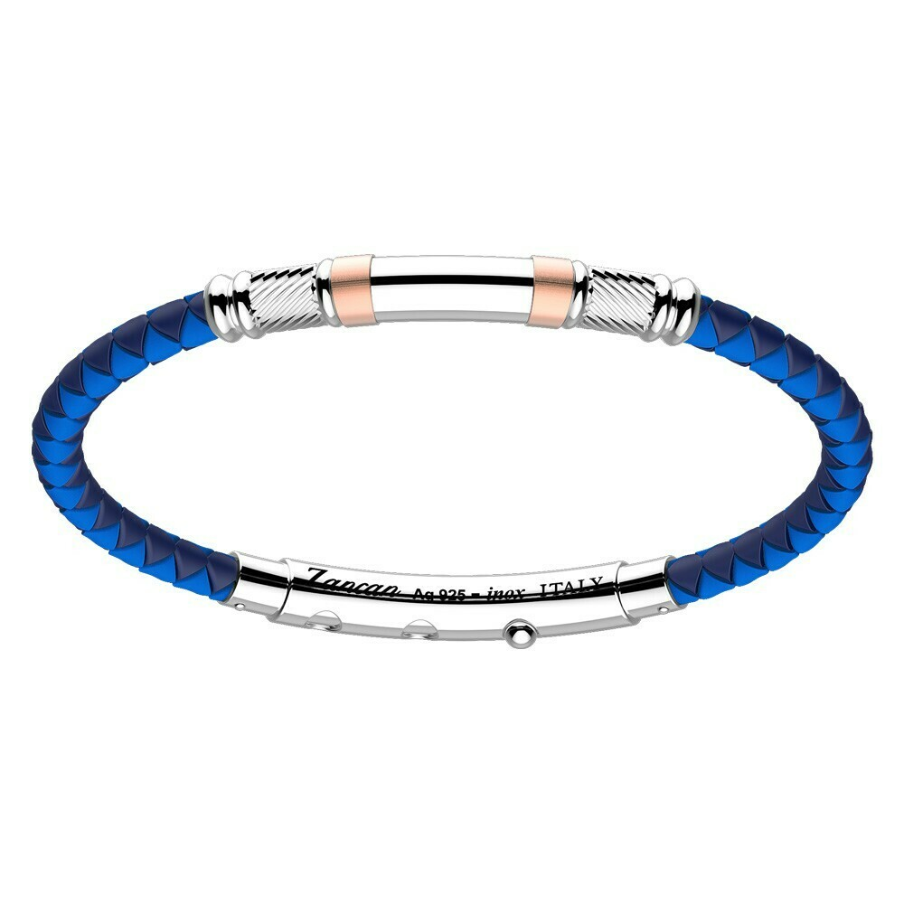 Bracciale Zancan Robertinox Blue