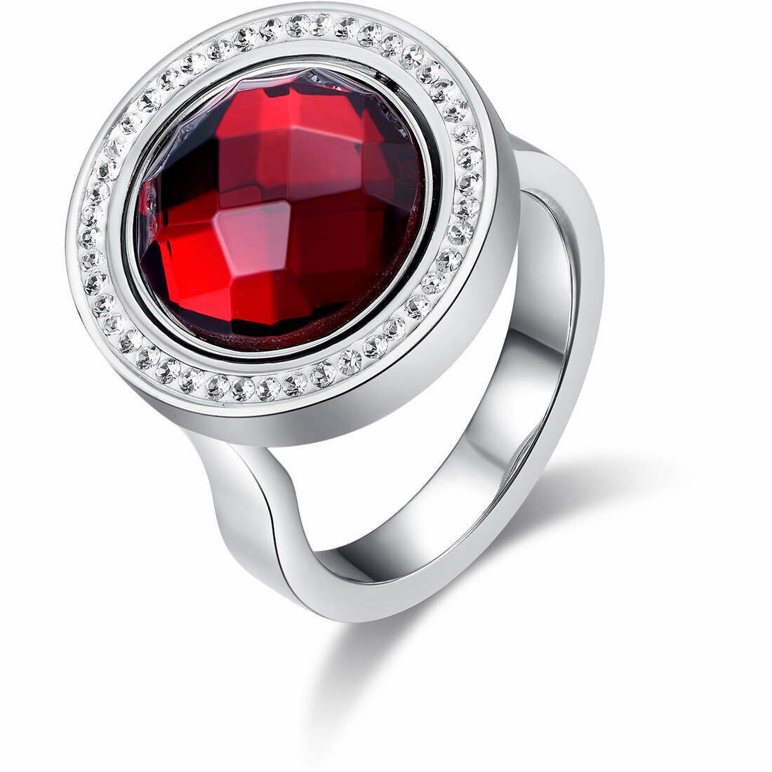 Anello Luca Barra Freedom Style Red