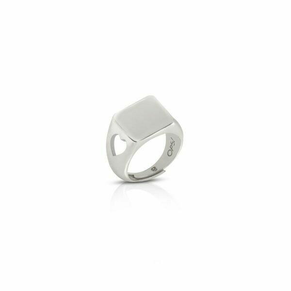 Anello Ops Icon Essential Silver