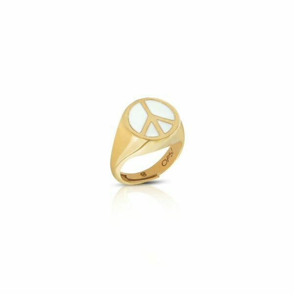 Anello Ops Icon Hope Gold